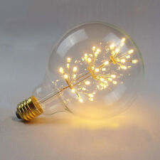 Large Fireworks LED Light E27 Edison Vintage Filament Bulb Style lamp Decorative