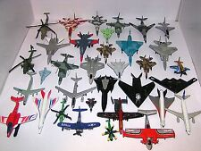 Lot of 34 Diecast Airplanes Jets Planes Aircraft Military & More MAISTO MATCHBOX