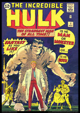 POSTER: INCREDIBLE HULK #1 (May 1962) Marvel Comics Cover Poster Reprint