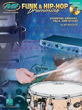 Musician Institute Private Lessons Funk Hip-Hop Drumming Music Book & CD