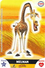 Vignette de collection autocollante CORA Dreamworks n° 34/112 - MELMAN