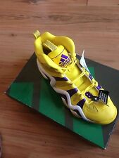 New Adidas Crazy 8 Kobe Lakers Yellow Purple Sneaker Retro OG JS G24829  1606-12
