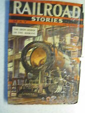 RAILROAD STORIES MAY 1937 PULP FANTASY ADVENTURE ACTION MUNSEY