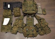 6SH117 Russian Ratnik Senior Rifleman Molle Vest with 2 Backpacks EMR Digital