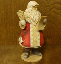 The Heart of Christmas #4038658 SANTA w/ MUSTACHE CHART, NEW From Retail Store