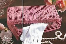Crochet Pattern ~ Antique Glove Box ~ Instructions