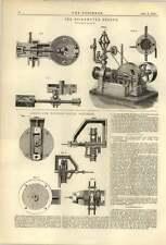 1874 eickemeyerer Motor Gibson Vowell gobernador de patente