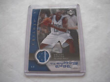 2005-06 UPPER DECK TRILOGY THE CUTTING EDGE DWIGHT HOWARD JERSEY CARD #CE-DH !!