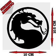 Sticker Adesivo Decal Mortal Kombat Logo ps3 ps2 ps1 Tuning Auto Moto