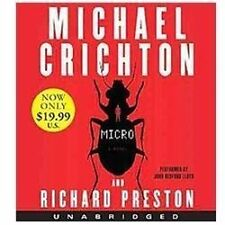 Micro by Michael Crichton (2012, CD, Unabridged)