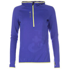 Ladies Women's New Reebok Tracksuit Top Sweater Jacket Jumper Pullover - Purple