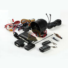 Two Way Micro Car Alarm & Keyless Entry with LCD Remote Control