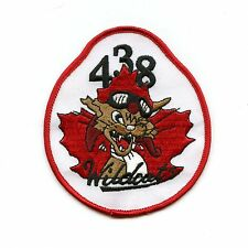 RCAF CAF Canadian 438 Fritz the Cat Wildcats Squadron Colour Crest Patch