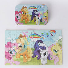 My little Pony 60 pc Jigsaw Puzzle Childrens Educational Toy Gift Tin Box