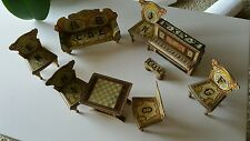 Antique Bliss Dollhouse set Furniture Gottschalk