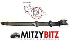 OSF RH DRIVERS FRONT BLACK SEAT BELT for MITSUBISHI PAJERO SHOGUN MK3 2000-2006
