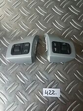 VAUXHALL ASTRA H 2005 STEERING WHEEL RADIO CONTROL SWITCH 13126750 SILVER