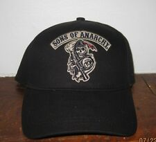 Sons of Anarchy SOA Officially Licensed REAPER LOGO Hat FLEX FIT OSFM
