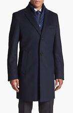 Hugo Boss The Logan3 Overcoat Black £450