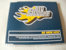 BIG BUDDHA - BE HERE NOW - 4 TRACK DRUM & BASS CD SINGLE