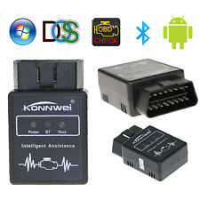 Mini ELM327 Bluetooth OBD2 OBDII For Android PC Car Diagnostic Interface Scanner