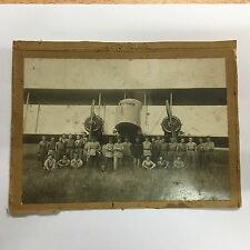 photo ancienne militaire Farman F50 5ème escadrille avion n°5 Luxeuil 1922