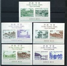 South Korea 1964 SG#MS527 Definitives MNH M/S Set #A68680