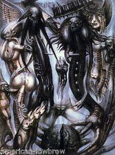HR Giger Art Poster Print Vlad Tepes Biomechanical Baphomet Alien