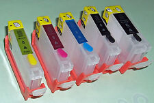 CANON MP510 MP520 MP600 MP610 MP800 MP810 MP970 Refillable Cartridges