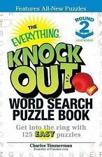 The Everything Knock Out Word Search Puzzle Book:  Lightweight Round 2: Get into