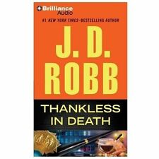 In Death: Thankless in Death 37 by J. D. Robb (2013, CD, Abridged)