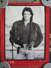 Lot of 12 Rick Springfield Promotional Posters/Flyers Vintage 1980's