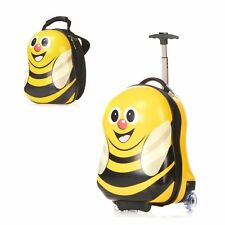 bumle bee Design Childrens Kids Travel Luggage Suitcase & Backpack Hard Shell