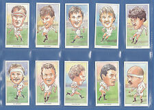 RUGBY - RUGBY FOOTBALL UNION - SET OF 50 ENGLISH INTERNATIONALS 1980-1991 - 1991