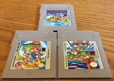 Super Mario Land 1 2 3 Games Nintendo Gameboy Trilogy Set Bundle Original OEM