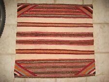 SINGLE SADDLE HORSE BLANKET Navajo Native American Indian Rug Reservation Weave