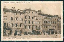 Croazia Fiume Cinque Giornate di cartolina QT4095