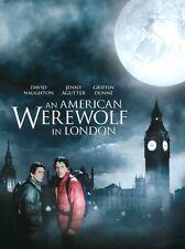 Encadrée Rétro Affiche de cinéma-un Américain loup-garou de Londres 1981 (réplique print)