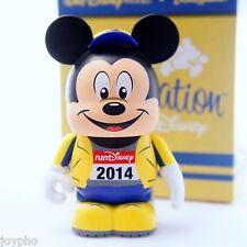 Vinylmation Run Disney 2014 Yellow Mickey Mouse Caley Hicks Walt World Ltd