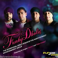 FUNKY DHOLIS - NEW BOLLYWOOD SOUNDTRACK BHANGRA CD - FREE UK POST