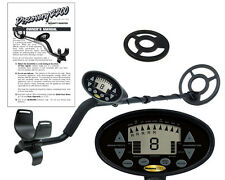 "Discovery 2200 Bounty Hunter Metal Detector with 8"" Inch Coil + Free Coil Cover!"