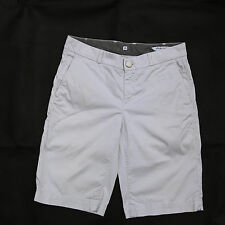JECKERSON LADIES SPORT BERMUDA LIGHT GREY DENIM JEANS SHORTS FIT W28 UK10 SuPER