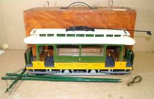 SCRATCH KIT BUILT 3.5 inch GAUGE WOLVERHAMPTON CORPORATION TRAM TROLLEY CAR oy