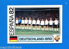 WORLD CUP STORY Panini - Figurina-Sticker n. 152 - DEUTSCHLAND-BRD-ESPANA 82-New