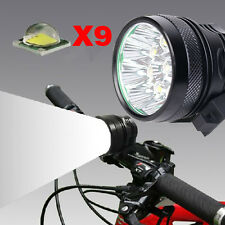 Bright 12000LM CREE XML-T6 LED Mountain Bike Light Bicycle Head Light EU Charger