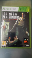 CRIMES & PUNISHMENTS SHERLOCK HOLMES EDIZIONE  ITALIANA Xbox 360  SIGILLATO