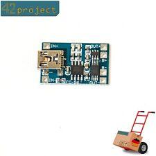 Lipo Liion Batterie 1a charge module Lithium 18650 usb avec protection tp4056 pour Arduino