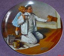 Knowles American Fine China THE PAINTER By Norman Rockwell