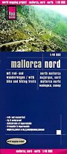 Map of Mallorca North, (Nord) Spain - by Reise Know How (2010)