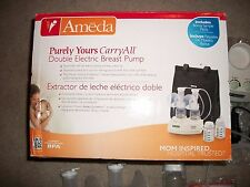 Ameda Purely Yours Carry All Double Electric Breast Pump W/ DVD #17077MT